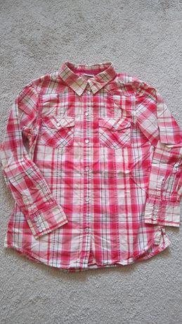 Next 140 koszula czerwona krata