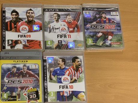 Jogos Fifa e Pes PS3