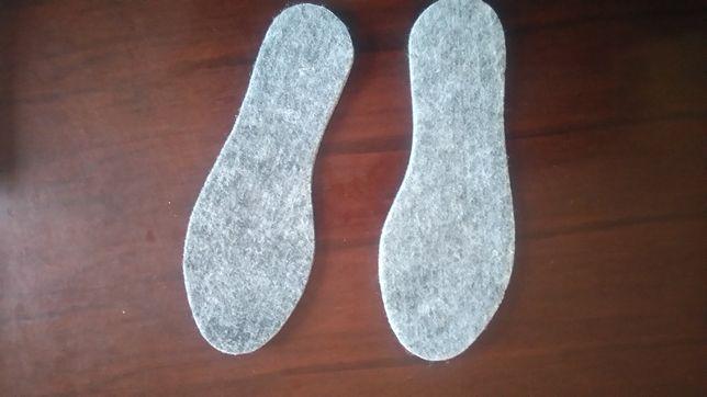 Wkładki filcowe do butów PRODUCENT 0,43 zł netto para
