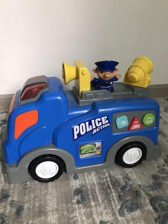 Машинка полицейская большая keenway/chicco/fisher praice