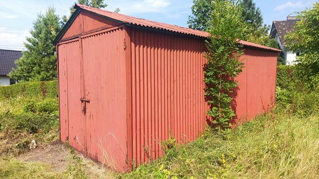 Garaż blaszany barak kontener 6 x3 metra