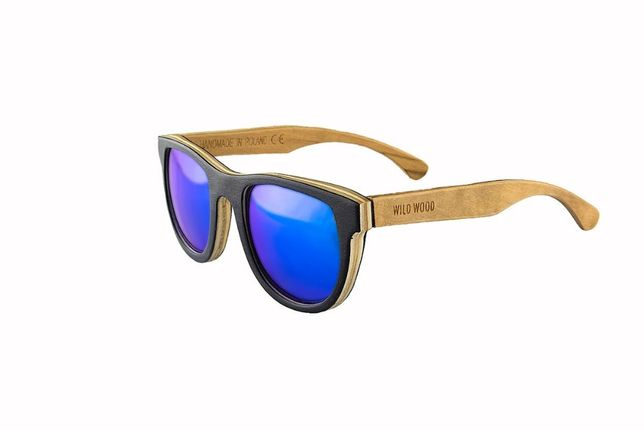 Drewniane okulary przeciwsłoneczne WILD WOOD WARSAW