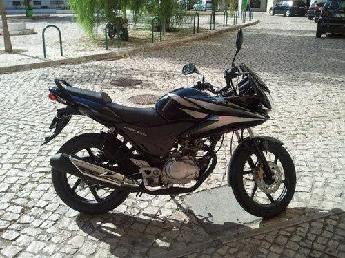 Honda 125cbf 11k