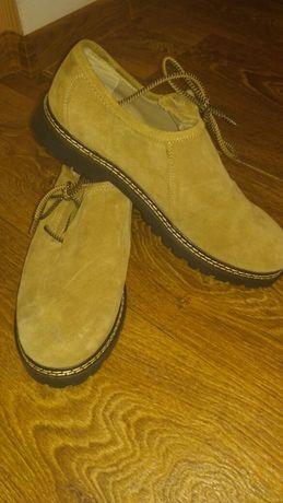 Мужские туфли замшевые(44 размерAlpin de luxe )
