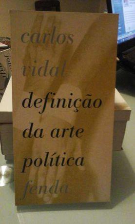 Definição da Arte Política, de Carlos Vidal