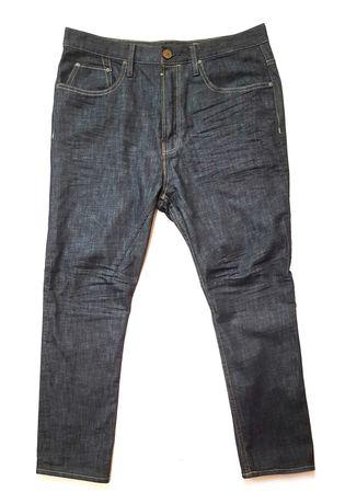 Зауженные джинсы allsaints spitalfields yawa short kick jeans