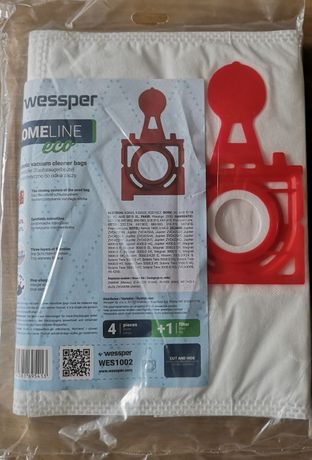 Worki do Zelmer Wessper HomeLine Eco 4 szt. + filtr