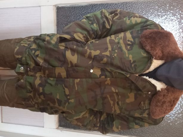Куртка зимняя армейская