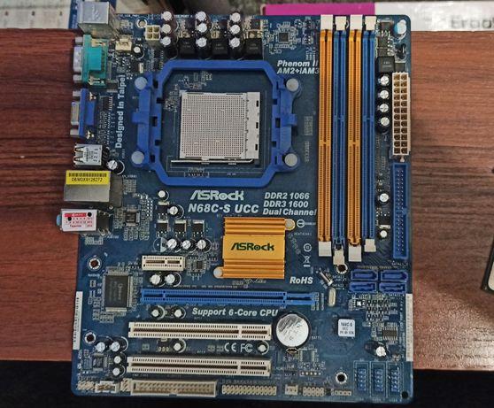 Asrock n68c-s ucc, athlon 2 х4 640