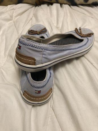 Балетки лодочник босоножки туфли тапки Tommy Hilfiger легкие удобные