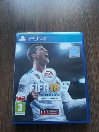 Gra na PS4 FIFA 18,jak NOWA.Zamiana