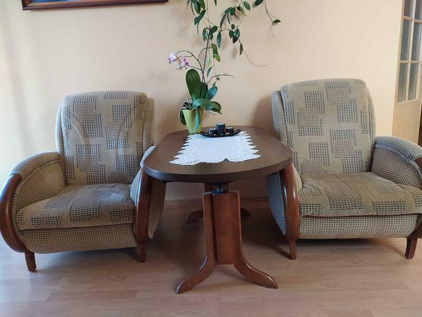 Sofa, 2 fotele i ława