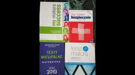 Podręczniki, książki do liceum, technikum, j. angielski.