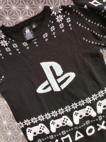 Cudo sweter PlayStation 9-10lat 140 wysyłka