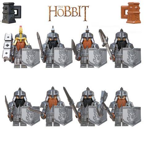 Bonecos minifiguras Hobbit / Senhor dos Anéis nº11(compativel c/ Lego)