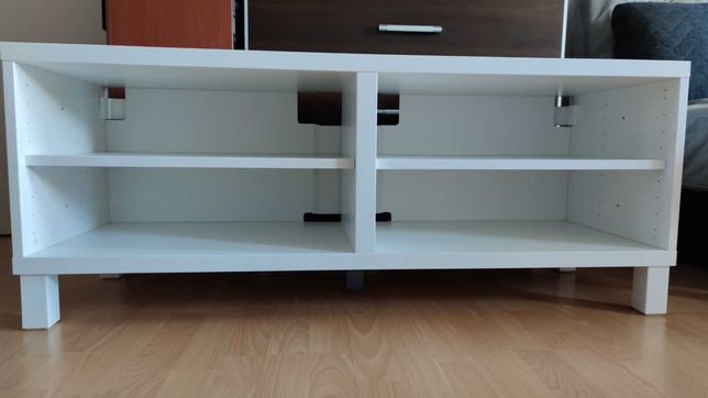 Szafka RTV Ikea Besta biała