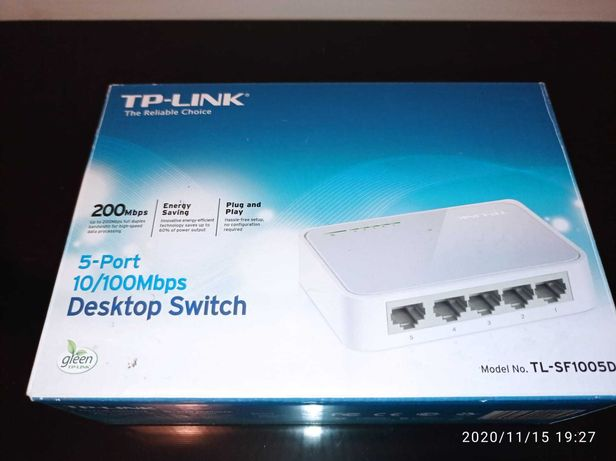 Desktop switch TP-LINK