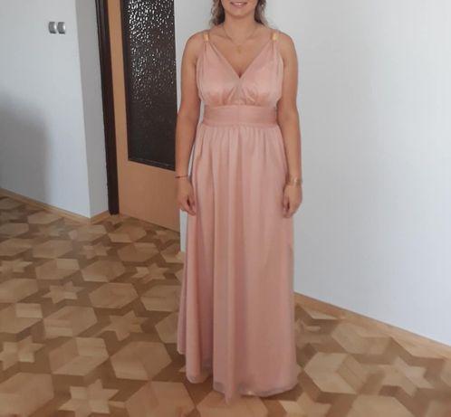 Sukienka Gloria Nude Illuminate