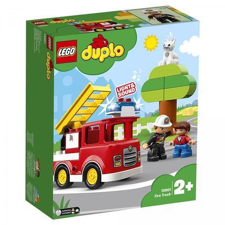 Конструктор LEGO Duplo Пожарная машина. Свет. ЗВУК СИРЕНЫ