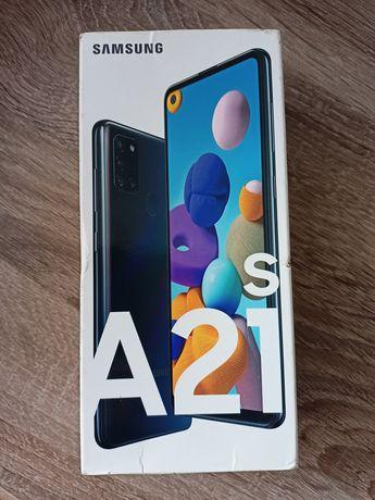 Смартфон Samsung Galaxy A21s 4/64GB (SM-A217F/DSN) Black