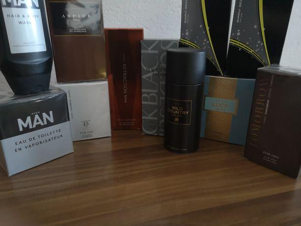 Avon na prezenty Mega zestaw męskich perfum