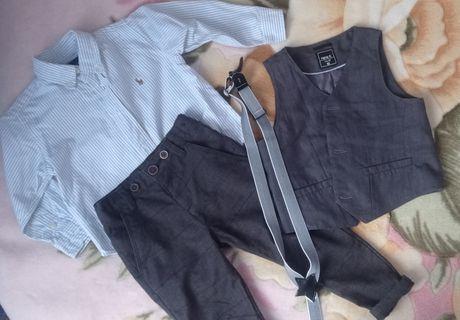 Набор на мальчика, брюки, нарядный костюм, рубашка, Ralph Lauren, F&F