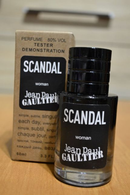 Jean Paul Gaultier Scandal люкс тестер
