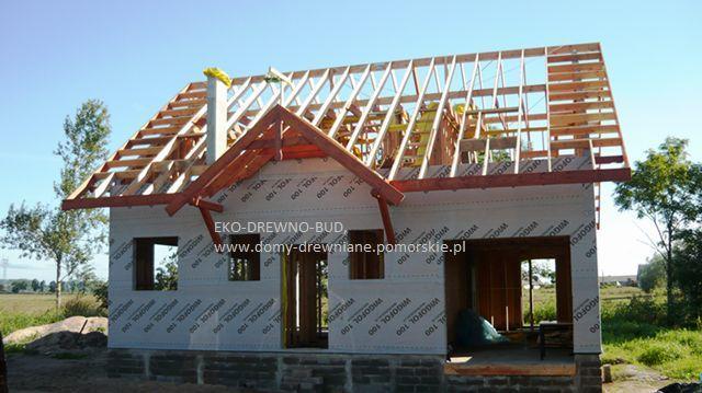 Domy szkieletowe drewniane , budowa , remont