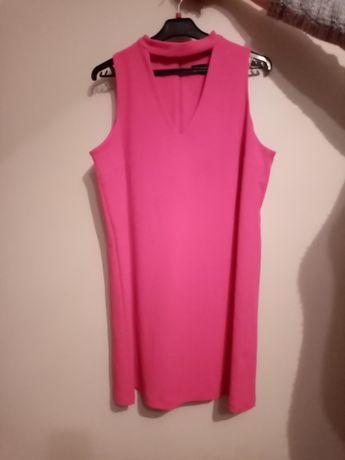 Różowa sukienka New Look. Prawie Nowa