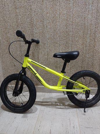 """Детский беговел Sigma Speed Racer 12"""" лимонный"""