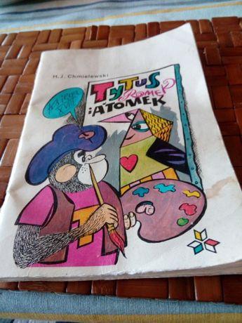 Komiks prl Tytus Romek i Atomek ksiega XVIII 1987r