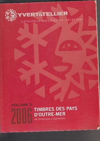 Catálogo usado Yvert & tellier - 2005 - Volume 3 - Letras D a G