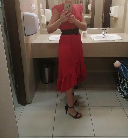 Sukienka czerwona m