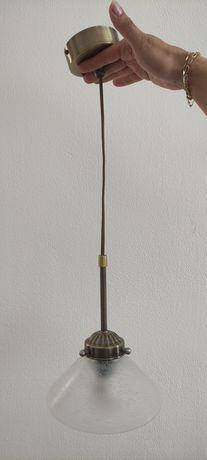 Lampa wisząca (biała)