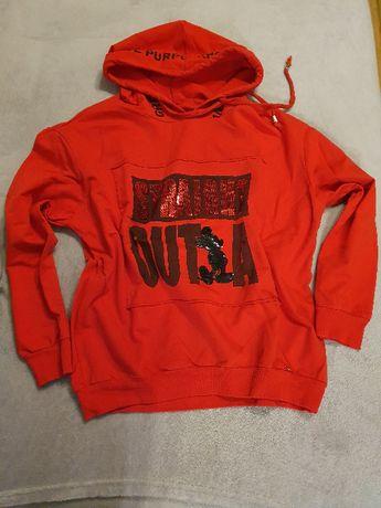 Czerwona bluza M nowa