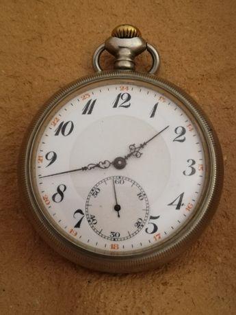 Raríssimo Relógio de Bolso Suíço Basculante