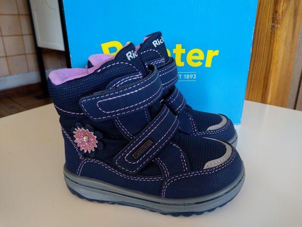 Kozaki Richter Shoes Tex r.22 Śniegowce Botki/Geox Primigi Ecco Emel