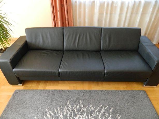 Sofa 3 osobowa ze skóry
