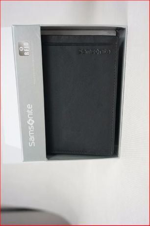 PORTFEL SAMSONITE męski prezent ochrona RFID