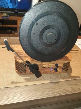 Gramofon Auna Verticalo SE. Nowy!!! Styl retro z bluetooth