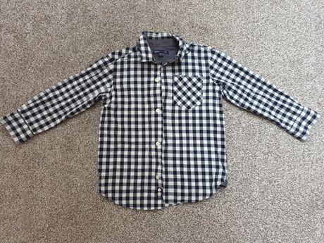 Koszula GAP elegancka w kratkę Święta 128