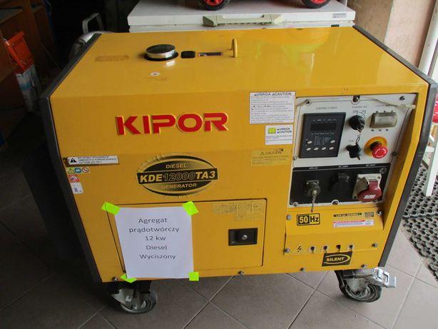 Sprzedam agregat prądotwórczy Kipor 10 KW Diesel