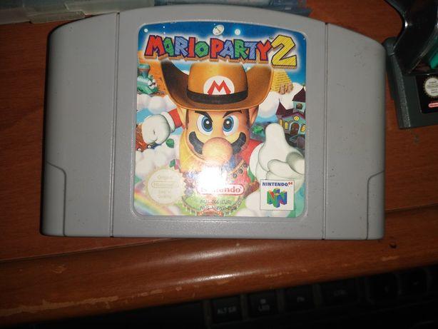 Mario Party 2 para Nintendo 64.