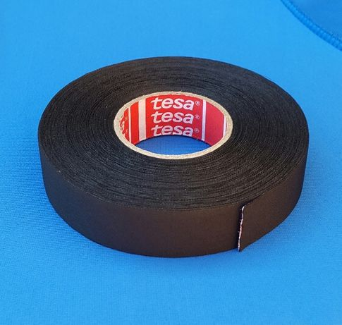 Изолента Tesa тканевая текстильная, не ворс; 19мм × 25м