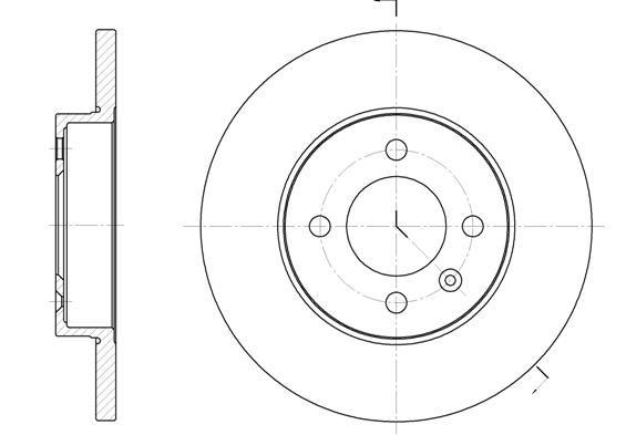 Тормозні диски на CHERY Tiggo Jaggi Amulet Eastar Elara Kimo M11 QQ