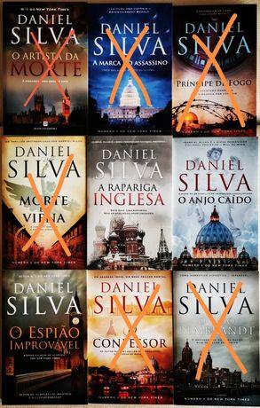 Ken Follett & Daniel Silva & Outros- Best Sellers