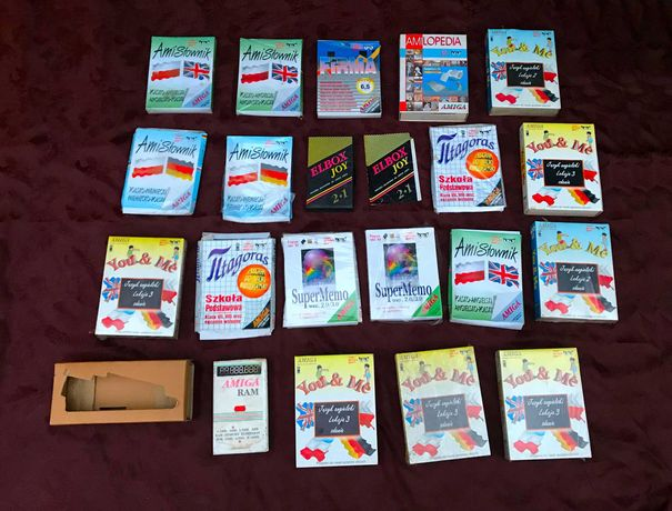 Amiga Commodore 1200 ZESTAW ELBOX KIT