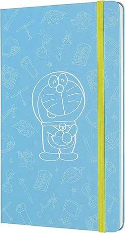 Moleskine Doraemon 2020, Large (13x21 см), голубой