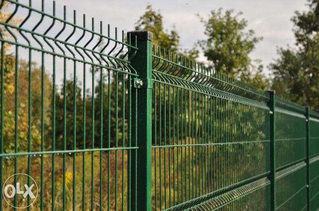 Panel ogrodzeniowy H123 Ocynk + Ral fi 4mm Tani Montaż Promocja