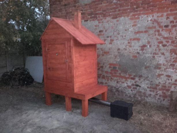 Wedzarka drewniana Wędzarki drewnan Duża 90x70x130h